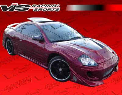VIS Racing - Mitsubishi Eclipse VIS Racing Battle Z Full Body Kit - 00MTECL2DBZ-099