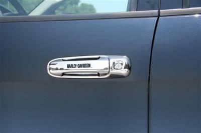Putco - Dodge Ram Putco Harley-Davidson Door Handles - Lettering - 407019