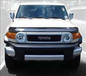 AVS - Toyota FJ Cruiser AVS Bugflector II Hood Shield - Smoke - 25139