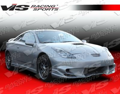 VIS Racing - Toyota Celica VIS Racing Invader-6 Full Body Kit - 00TYCEL2DINV6-099