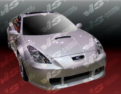 VIS Racing - Toyota Celica VIS Racing Techno R-3 Full Body Kit - 00TYCEL2DTNR3-099