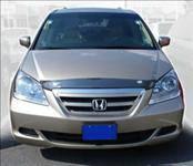 AVS - Honda Odyssey AVS Bugflector II Hood Shield - Smoke - 25400