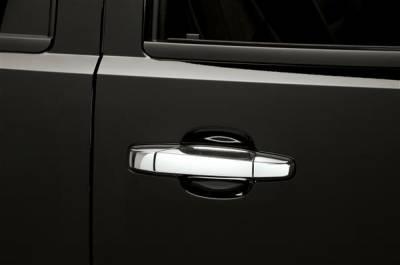 Putco - GMC Yukon Putco Chromed Stainless Steel Door Handle Covers - 500033