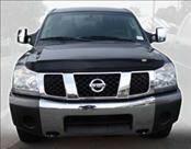 AVS - Nissan Armada AVS Bugflector II Hood Shield - Smoke - 25402