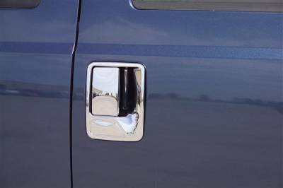 Putco - Ford F350 Superduty Putco Chromed Stainless Steel Door Handle Covers - 501003