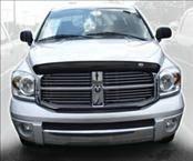 AVS - Dodge Ram AVS Bugflector II Hood Shield - Smoke - 25430