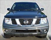 AVS - Nissan Frontier AVS Bugflector II Hood Shield - Smoke - 25519