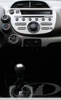 Sherwood - Honda Fit Sherwood 2D Flat Dash Kit