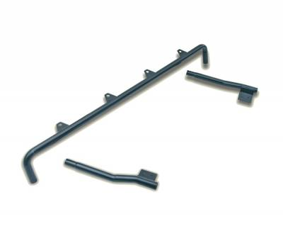 Omix - Rugged Ridge Full Frame Light Bar - Powder Coated Black - 11232-01