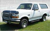 AVS - Ford Bronco AVS Bugflector II Hood Shield - Smoke - 25738