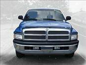 AVS - Dodge Ram AVS Bugflector II Hood Shield - Smoke - 3PC - 25833