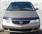 AVS - Honda Odyssey AVS Bugflector II Hood Shield - Smoke - 25844