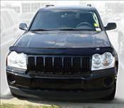 AVS - Jeep Grand Cherokee AVS Bugflector II Hood Shield - Smoke - 25905