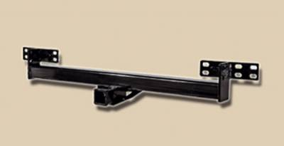 Omix - Outland Rear Trailer Hitch - Black - 11580-02