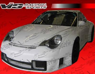 VIS Racing - Porsche 911 VIS Racing D3 RSR Wide Body Full Body Kit - 02PS9962DD3RSR-099