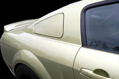 Agent 47 - Ford Mustang Agent 47 Quarter Window Deletes - 30205