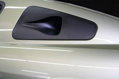 Agent 47 - Ford Mustang Agent 47 Quarter Window NACA Ducts - 30206