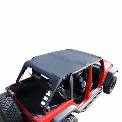 Omix - Rugged Ridge Roll Bar Top - Diamond Black - 13589-35