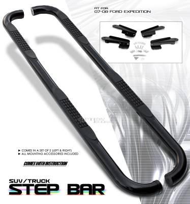 OptionRacing - Ford Expedition Option Racing Side Step Bar - 30-18129