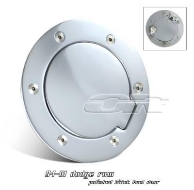 OptionRacing - Dodge Ram Option Racing Fuel Door Cover - 50-17107