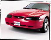 AVS - Ford Mustang AVS Headlight Covers - Smoke - 2PC - 37423