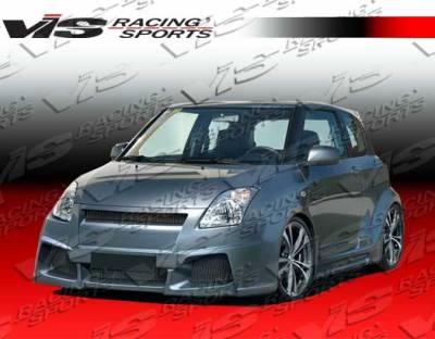 VIS Racing - Suzuki Swift VIS Racing Viper Widebody Full Body Kit - 05SZSWF4DVRWB-099