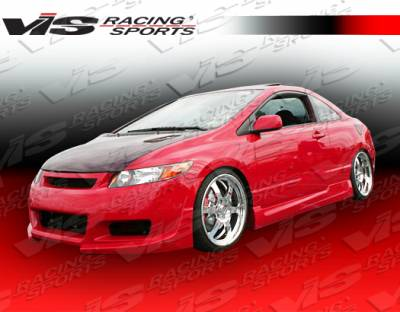 VIS Racing - Honda Civic 2DR VIS Racing Touring Full Body Kit - 06HDCVC2DTOU-099