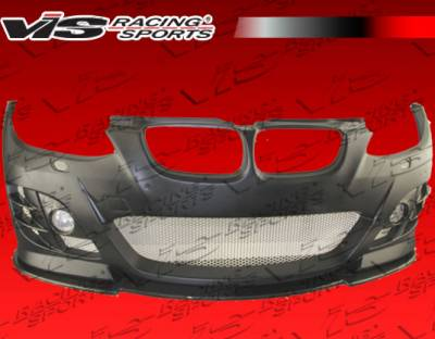 VIS Racing - BMW 3 Series 2DR VIS Racing RSR Full Body Kit with Carbon Add-On - 07BME922DRSR-099CC