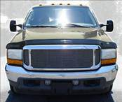 AVS - Ford Excursion AVS Bugflector II Hood Shield Deluxe - Oversized - Smoke - 45706