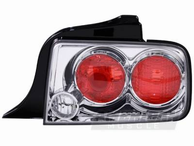 AM Custom - Ford Mustang Clear Altezza Taillights - 49002