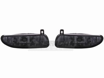 AM Custom - Ford Mustang Smoked Fog Lights - 49022