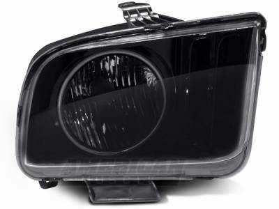 AM Custom - Ford Mustang Smoked Headlight with CCFL Halo - 49061