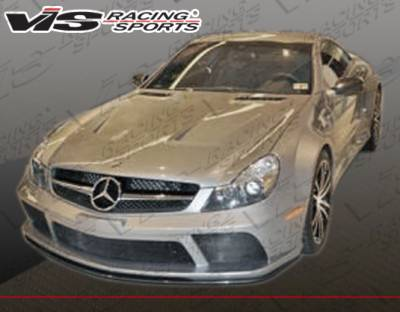 VIS Racing - Mercedes-Benz SL VIS Racing Black Series Facelift Conversion with Carbon Fiber Hood - 09MER2302DBLK-098