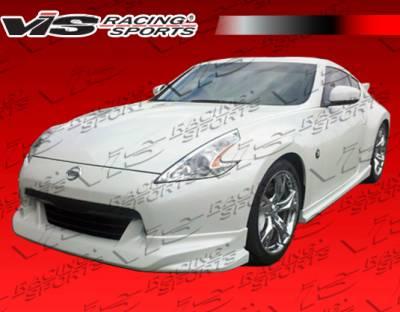 VIS Racing - Nissan 370Z VIS Racing Techno R Full Body Kit - 09NS3702DTNR-099