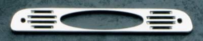 All Sales - All Sales Third Brake Light Cover - Oval Design Design - Brushed - 54005
