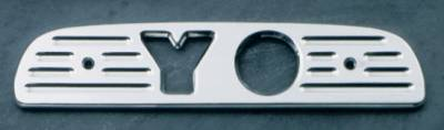 All Sales - All Sales Third Brake Light Cover - YO Design - Brushed - 74000