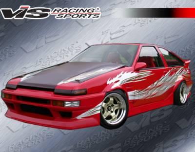 VIS Racing - Toyota Corolla VIS Racing RF Full Body Kit - 84TYCORHBRF-099