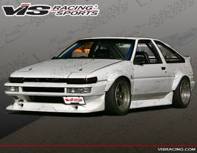 VIS Racing - Toyota Corolla VIS Racing V-Spec Full Body Kit - 84TYCORHBVSC-099