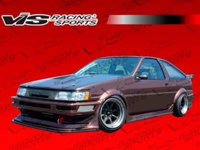 VIS Racing. - Toyota Levin VIS Racing RF Full Body Kit - 84TYLEV2DRF-099