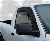 AVS - Ford Ranger AVS Ventvisor Deflector - 2PC - 92083