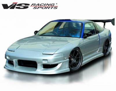VIS Racing - Nissan 240SX VIS Racing Werk Type-9 Full Body Kit - 89NS240HBWK9-099
