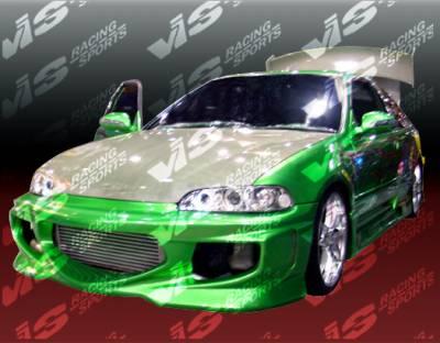 VIS Racing. - Honda Civic 2DR VIS Racing GT Bomber Full Body Kit - 92HDCVC2DGB-099