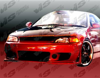 VIS Racing - Honda Civic 2DR VIS Racing TSC 3 Full Body Kit - 92HDCVC2DTSC3-099