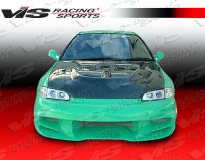 VIS Racing. - Honda Civic 2DR VIS Racing Wave Full Body Kit - 92HDCVC2DWAV-099