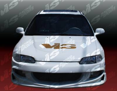 VIS Racing. - Honda Civic 2DR VIS Racing XGT Full Body Kit - 92HDCVC2DXGT-099