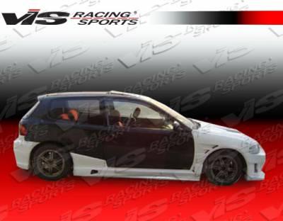 VIS Racing. - Honda Civic HB VIS Racing J Speed Full Body Kit - 92HDCVCHBJSP-099
