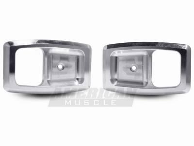 AM Custom - Ford Mustang Billet Interior Door Handle Bezels - 94201