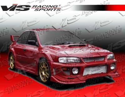VIS Racing - Subaru Impreza VIS Racing Viper Widebody Full Body Kit - 93SBIMP4DVRWB-099