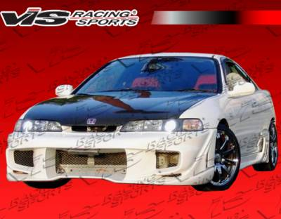 VIS Racing - Acura Integra 2DR VIS Racing Wave Full Body Kit - 94ACITR2DWAV-099