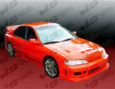 VIS Racing - Honda Accord 4DR VIS Racing Z1 boxer Full Body Kit - 94HDACC4DZ1-099